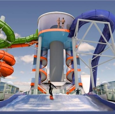 Water Slides on the Liberty of the Seas cruisingkids.co.uk