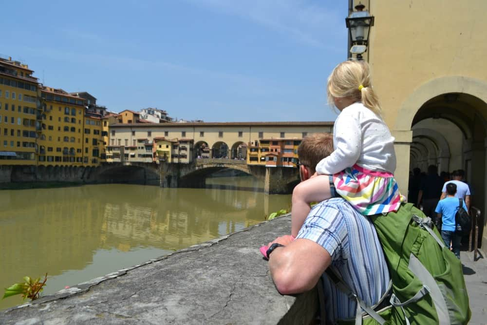 Ponte Vecchio - Florence with toddlers