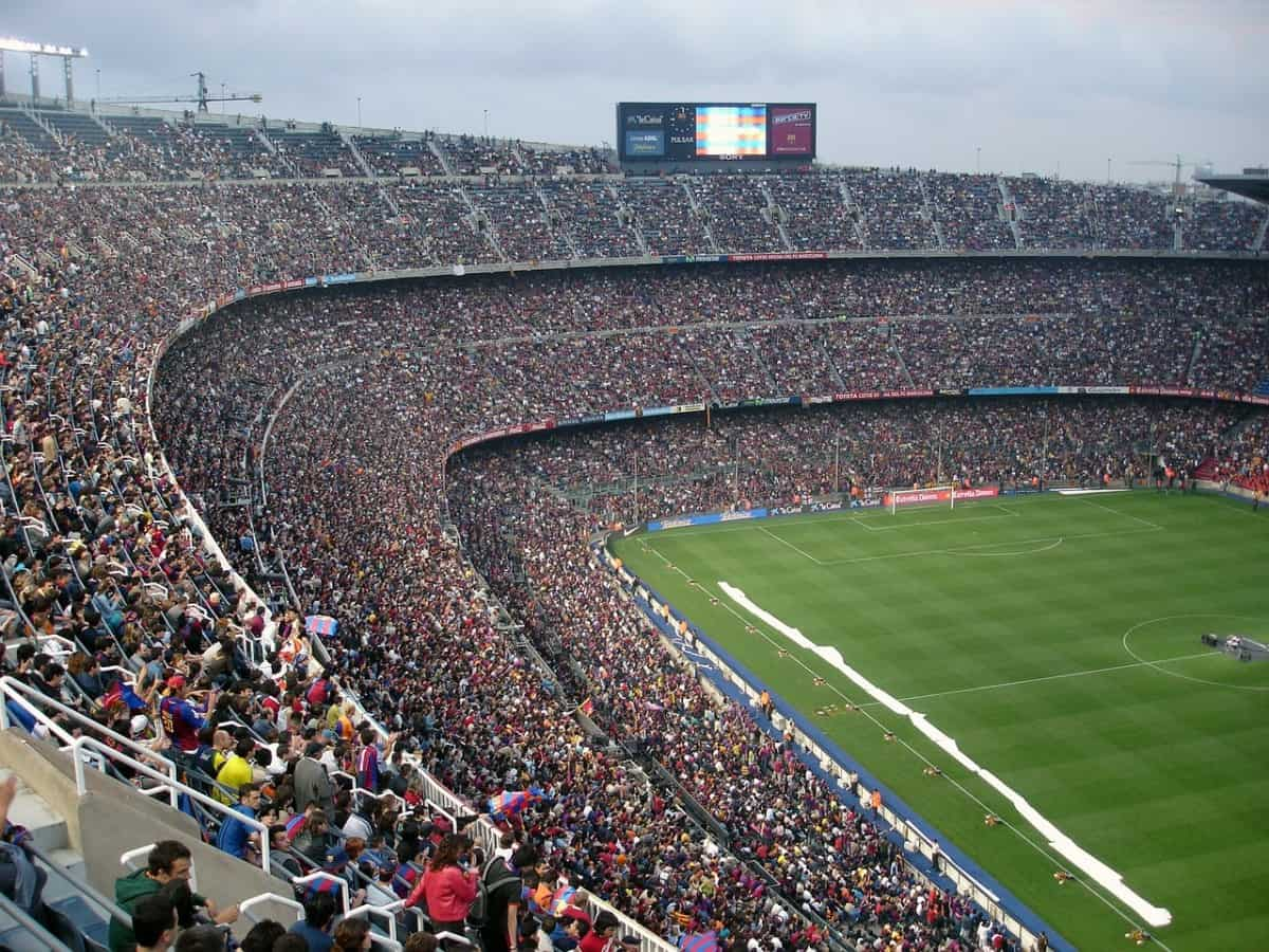 Camp Nou - things to do in Barcelona with kids pre-cruise