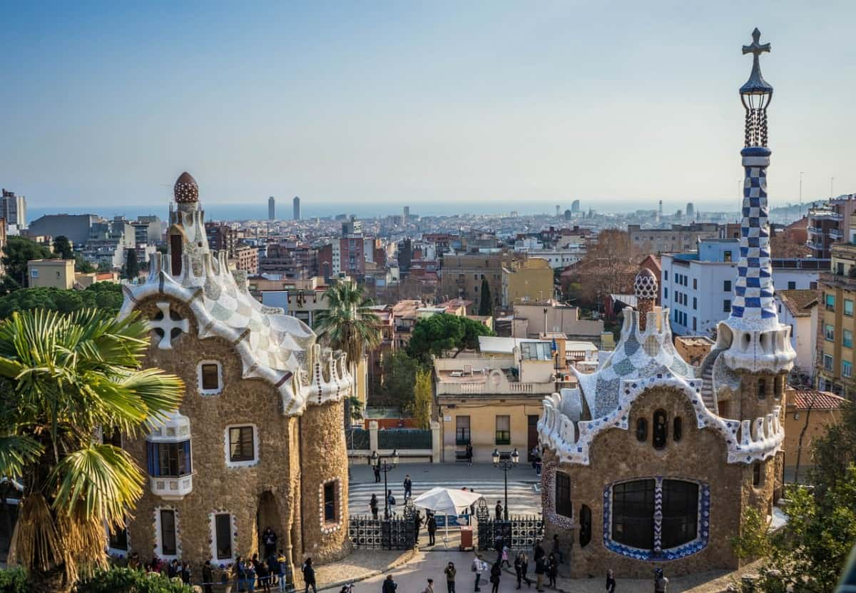 Park Güell - things to do in Barcelona with kids pre-cruise