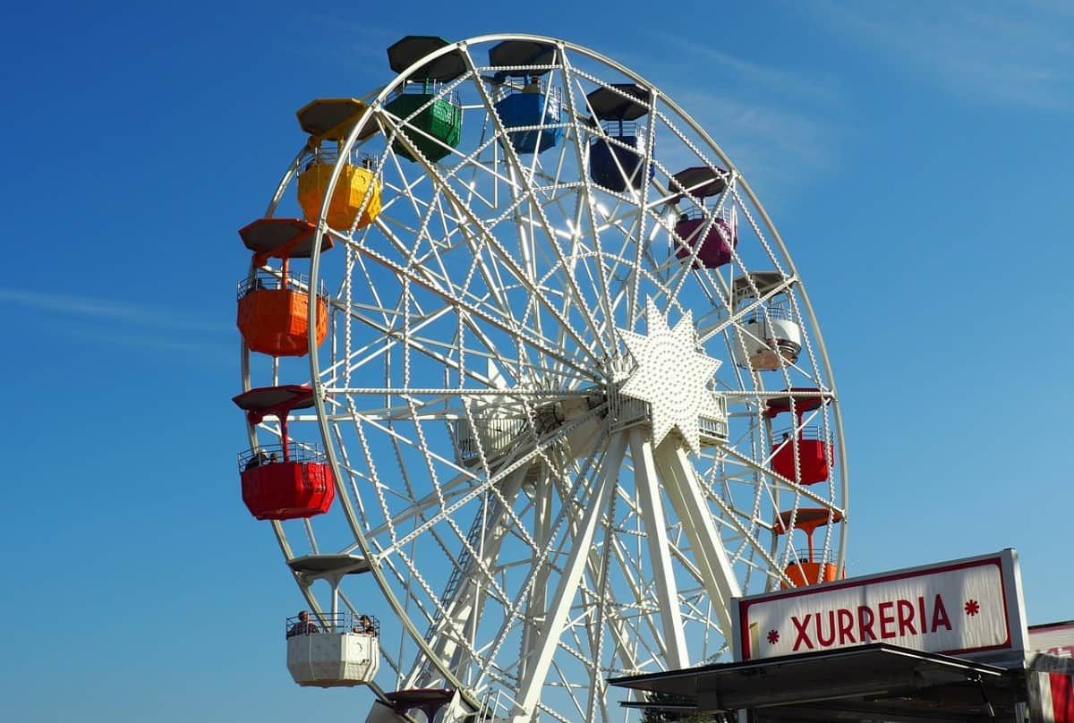 Tibidabo Amusement Park - things to do in Barcelona with kids pre-cruise