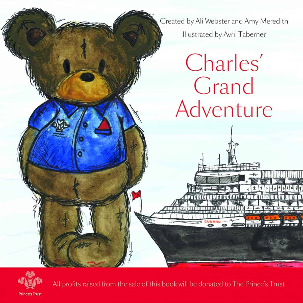 Charles' Grand Adventure - children's cruise book