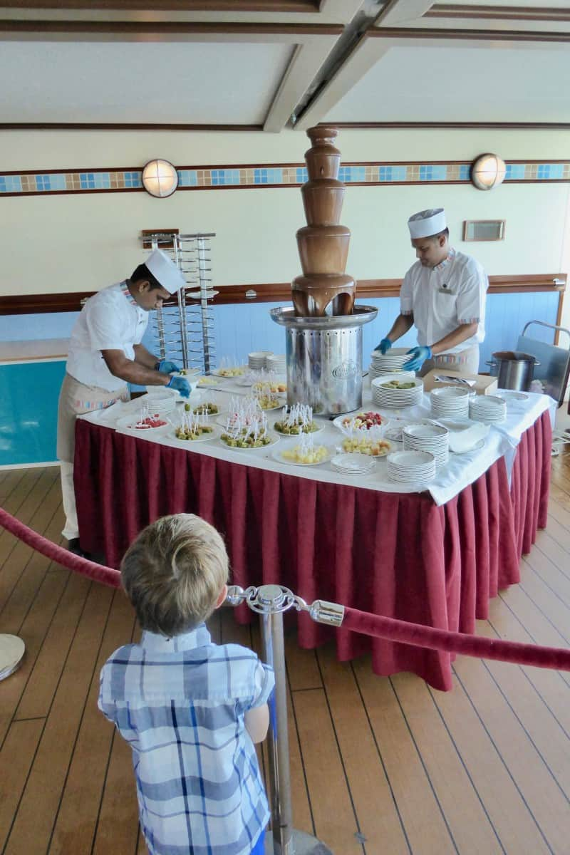 Chocoholics buffet - Cruise Experiences