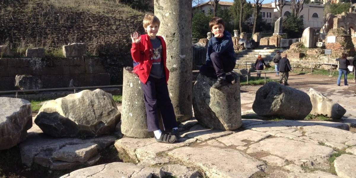 What to see in Rome with Kids - a self-guided tour www.cruisingkids.co.uk