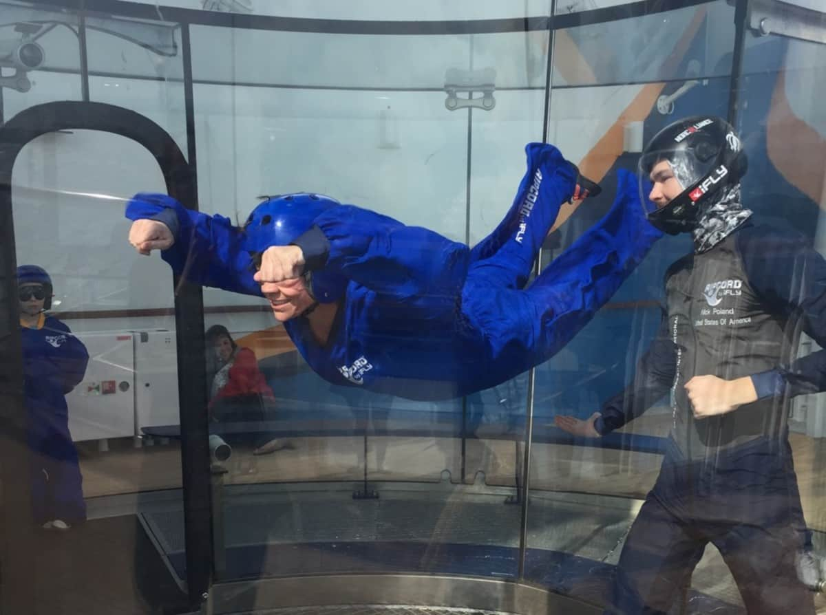 Ripcord by IFly on Anthem of the Seas www.cruisingkids.co.uk