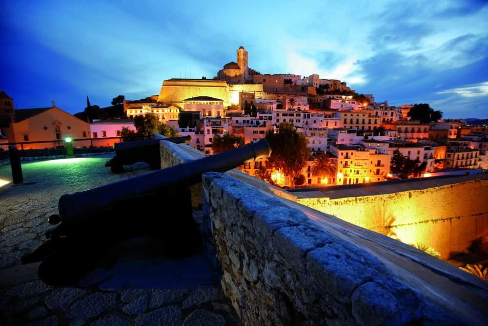 Dalt Vila Ibiza Old Town - Ibiza for families