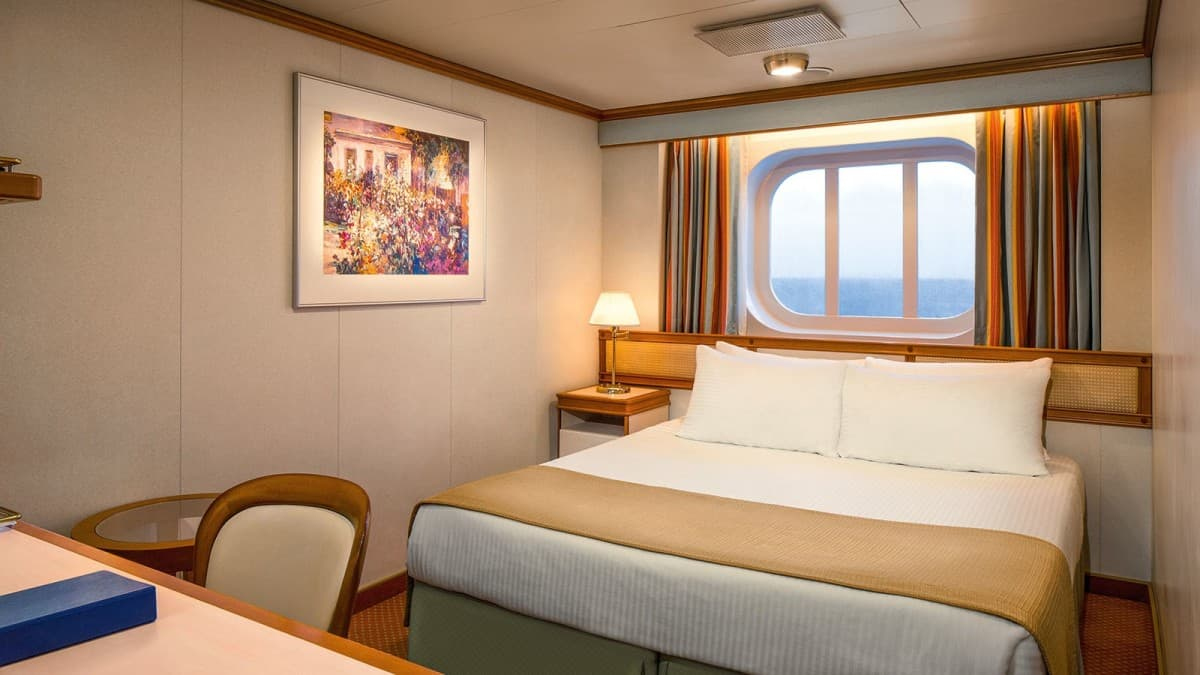 Oceanview Cabin On Princess cruises, cruise cabins for families