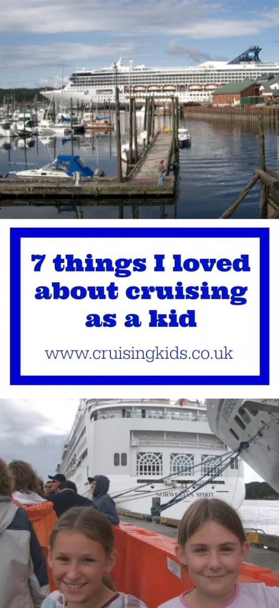 A guest post from Emma a Cruising Isn't Just for Old People about her experiences cruising as a kid and seven things she loved about it