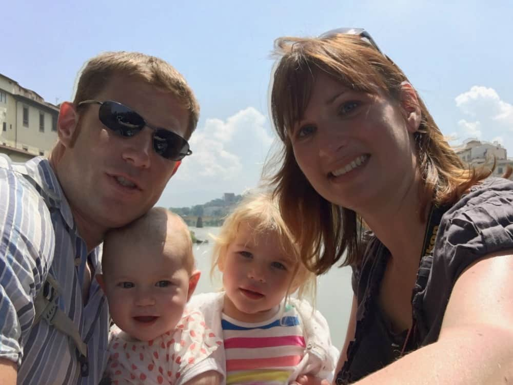Tin Box Family in Florence - cruising with a baby, what you need to know