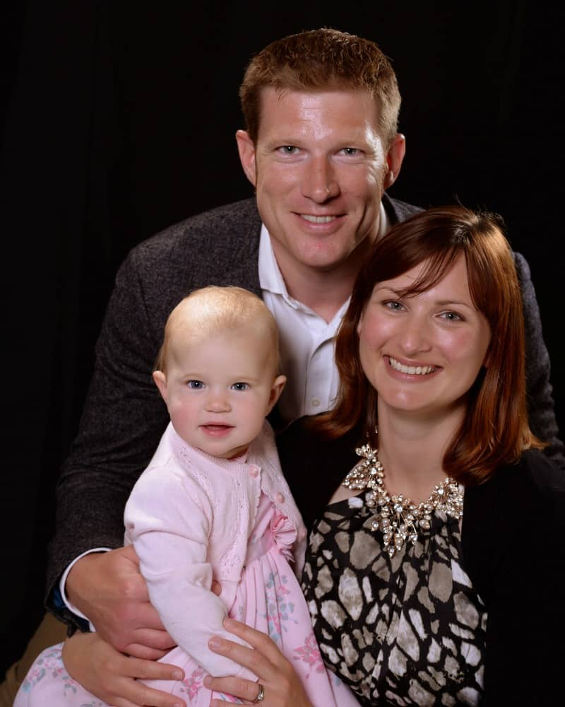 Tin Box Traveller family photo on cruise - cruising with a baby, what you need to know