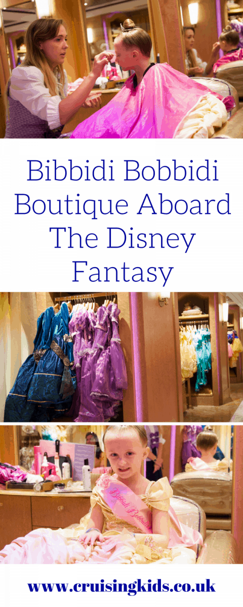 Bibbidi Bobbidi Boutique Aboard The Disney Fantasy