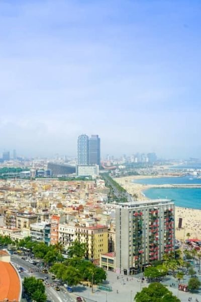 Barcelona city view - Barcelona with kids