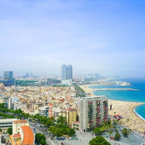Barcelona city view - Barcelona with kids