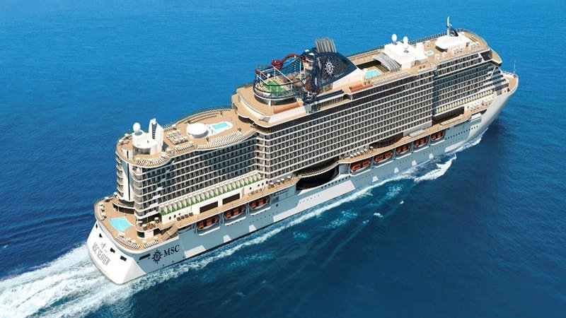 MSC seaview New and exciting cruise ships for 2018