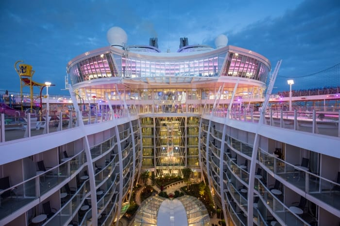 Central Park on Harmony of the Seas as it will look on Symphony of the Seas