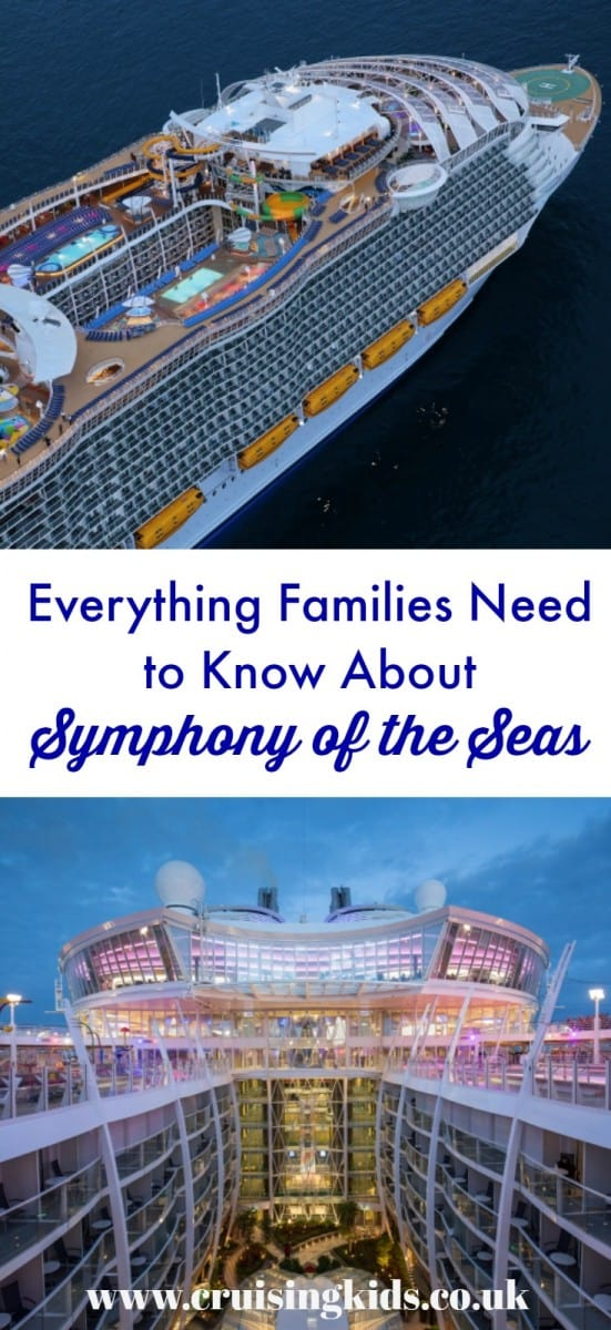 Here's our round-up of all the things families can get excited about onboard the world's largest cruise ship launching in April 2018 - Royal Caribbean's Symphony of the Seas #cruise #SymphonyoftheSeas #RoyalCaribbean #familycruise #familytravel #travel #cruiseship