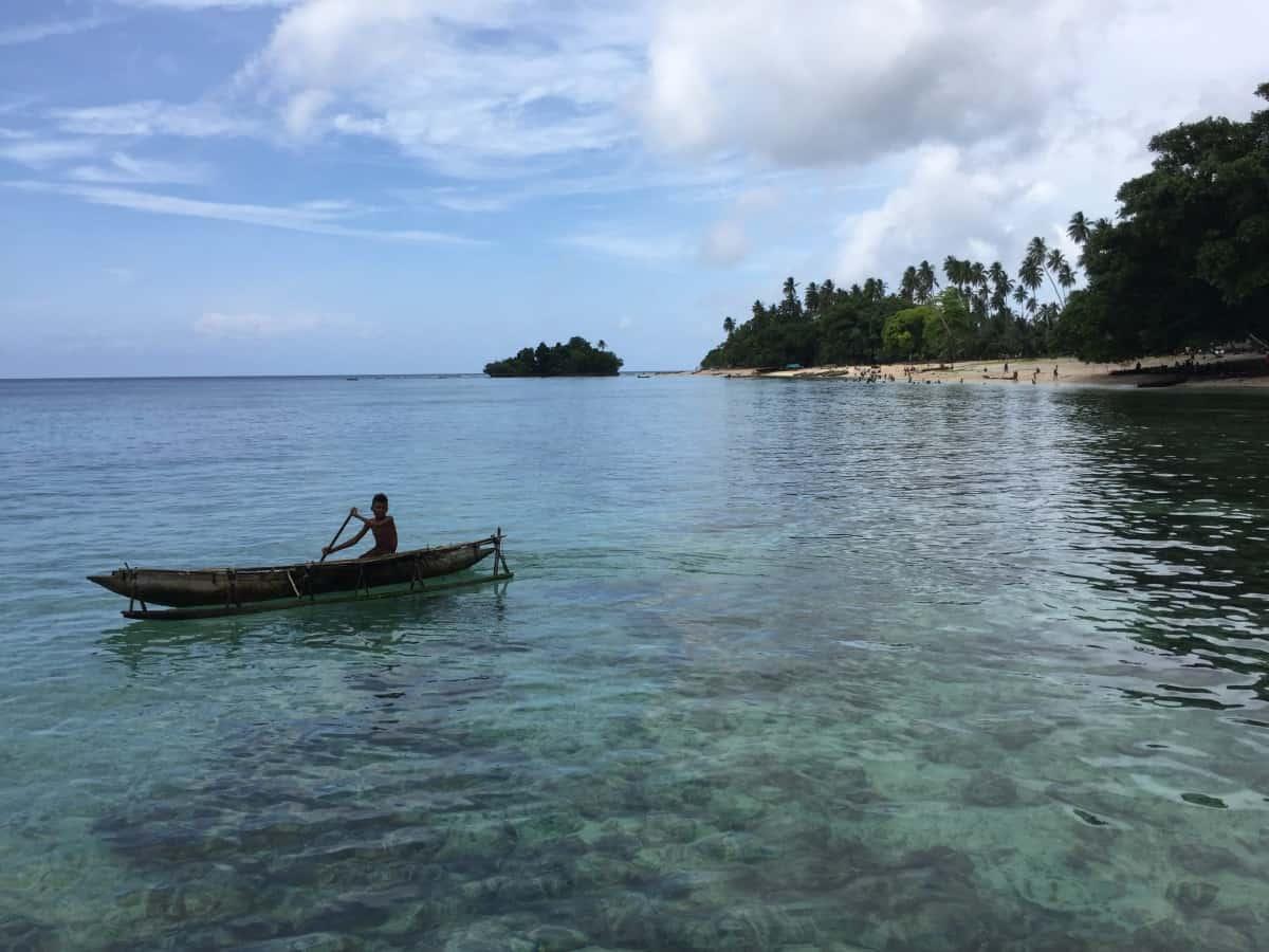 family cruise to Papua New Guinea