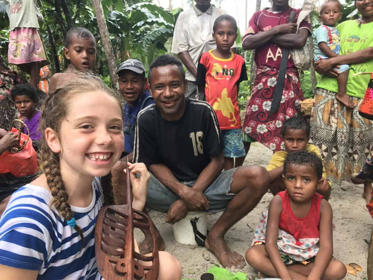 family cruise to Papua New Guinea