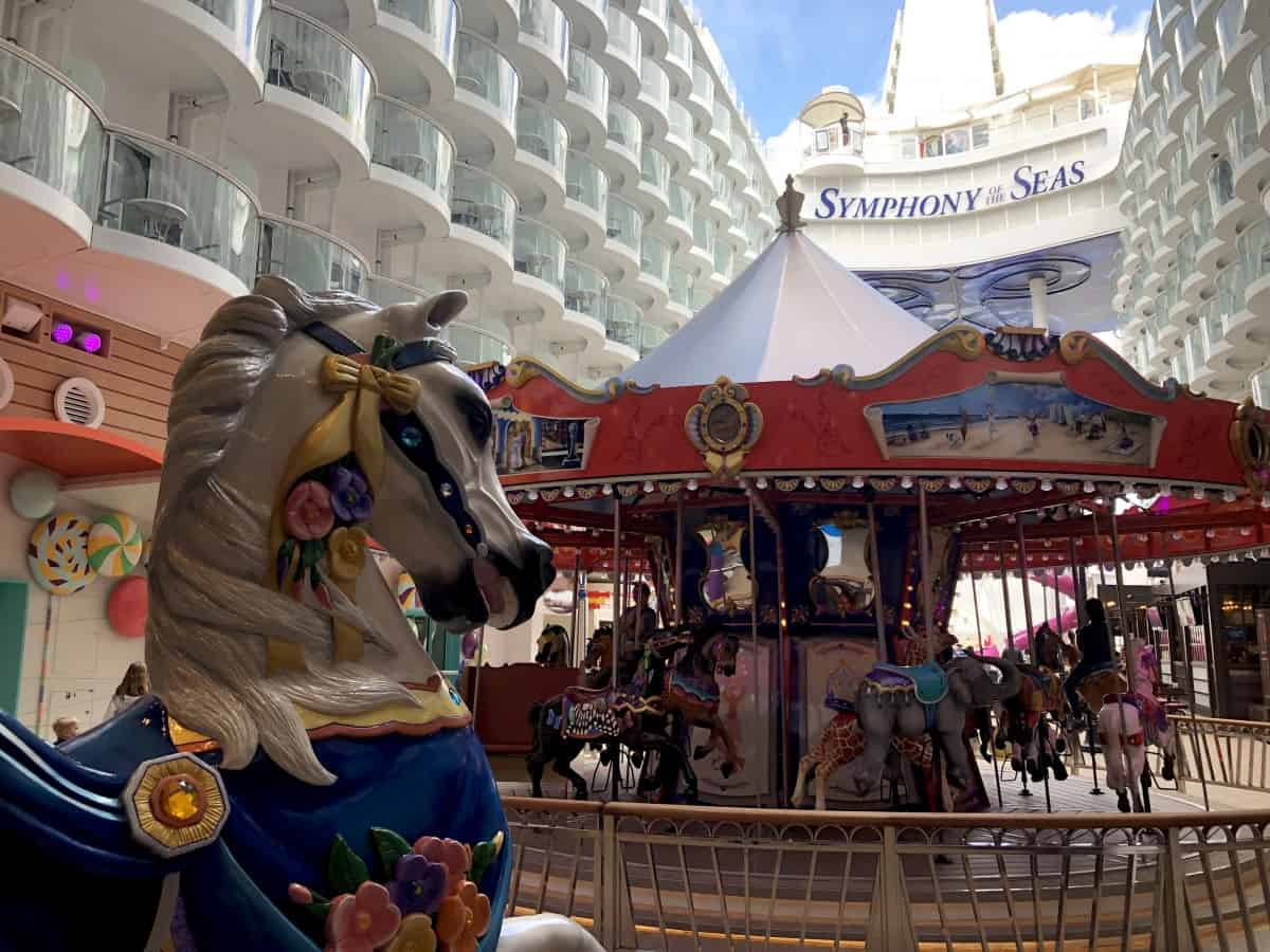 The Boardwalk on Symphony of the seas