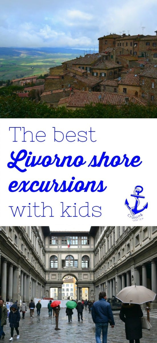The worst thing about a port day in Livorno is that there isn't time enough to see everything Tuscany has to offer. However, whichever Livorno shore excursion you chose we know it will leave you wanting more from Italy #travel #cruiseport #cruiseexcursions #portsofcall #Italy #travelblog #familytravel