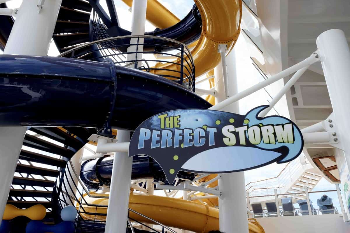 Symphony of the Seas Teens perfect storm slides