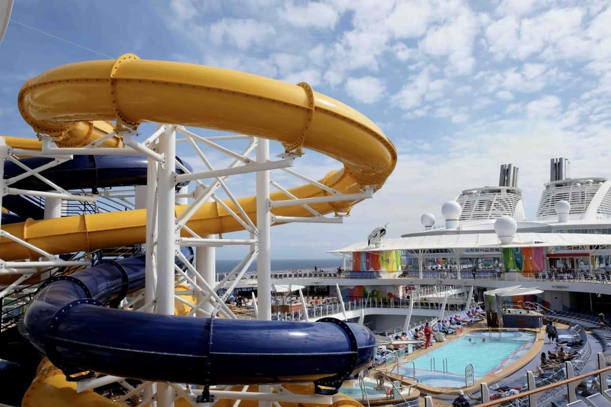 Symphony of the Seas Teens slides onboard the ultimate guide