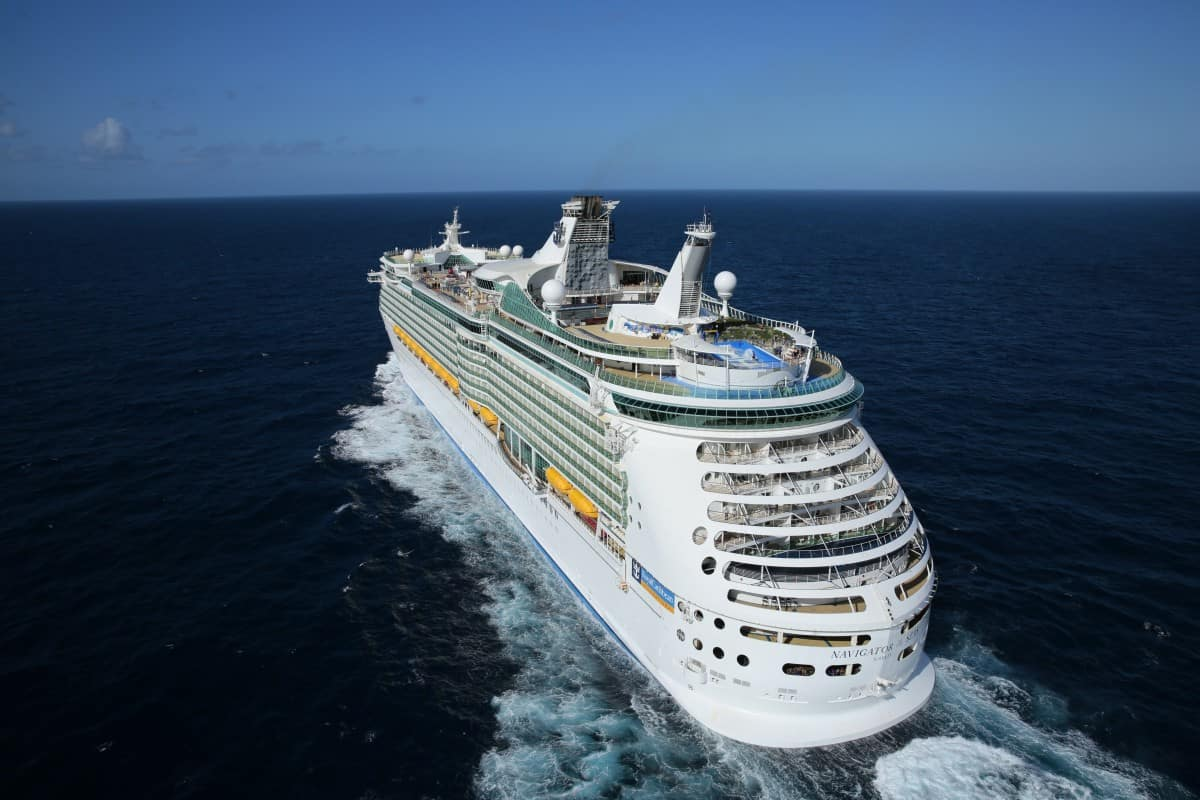 Follow our adventures as we sail back to the 80's onboard Navigator of the Seas