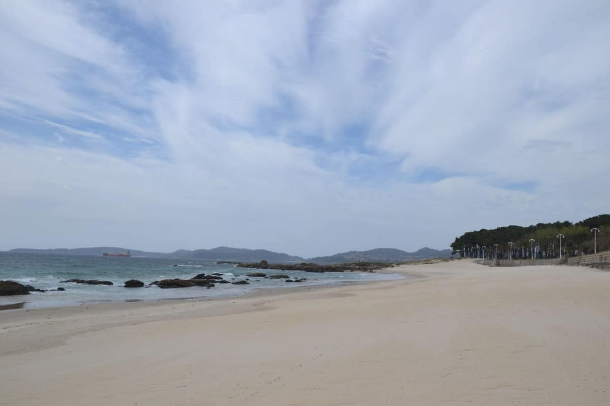 The Beach is on 15€ away by taxi in A Port Day In Vigo cruisingkids.co.uk