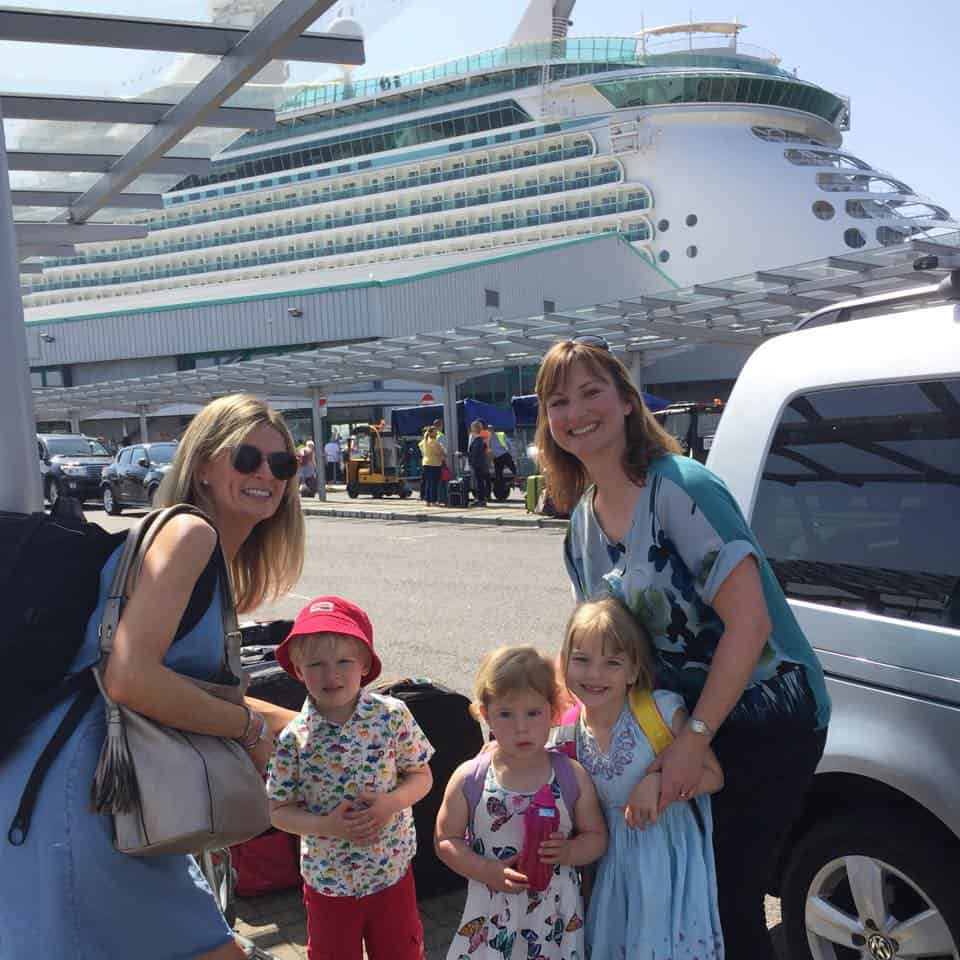 Embarking the Navigator Of The Seas