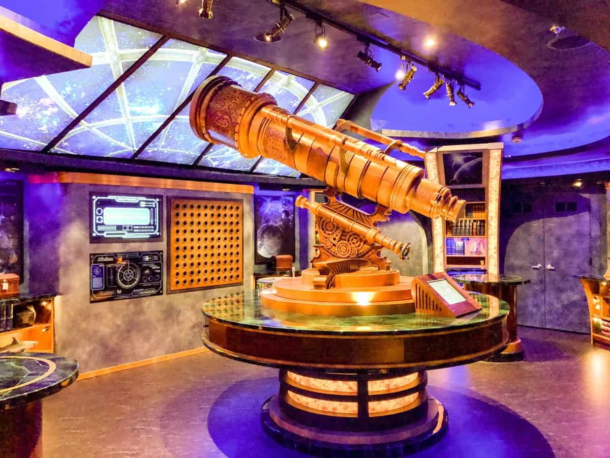 Escape room The Observatorium on Independence of the seas.