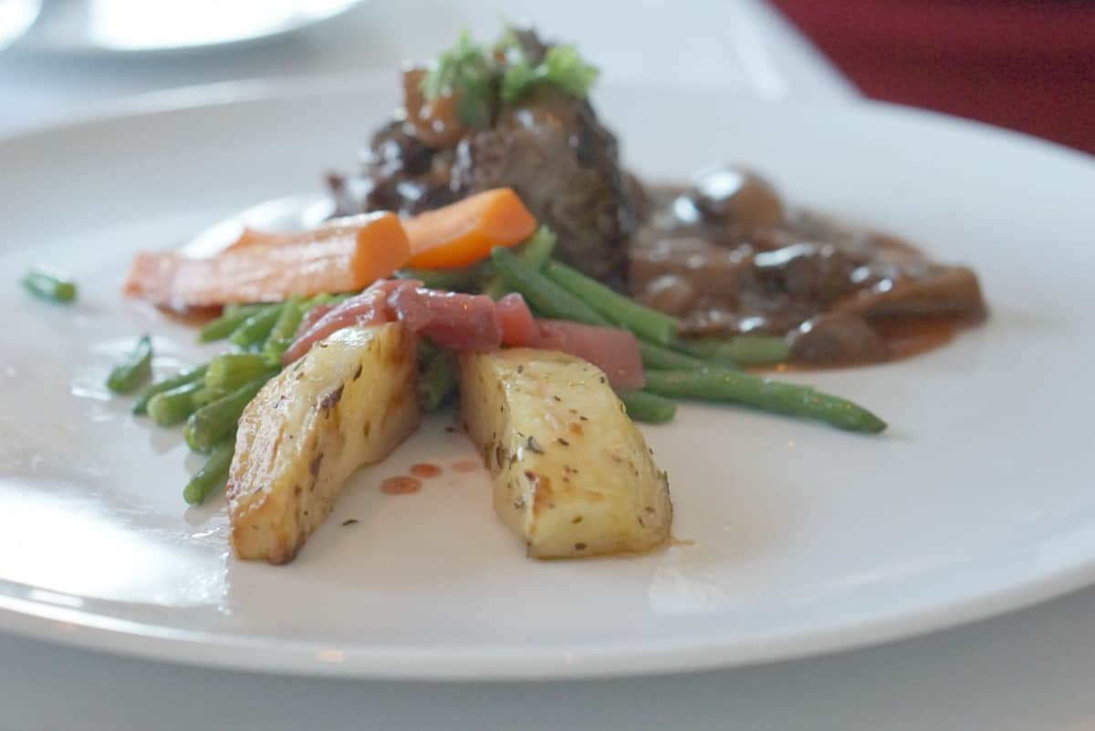 The Food On The Celebrity Silhouette