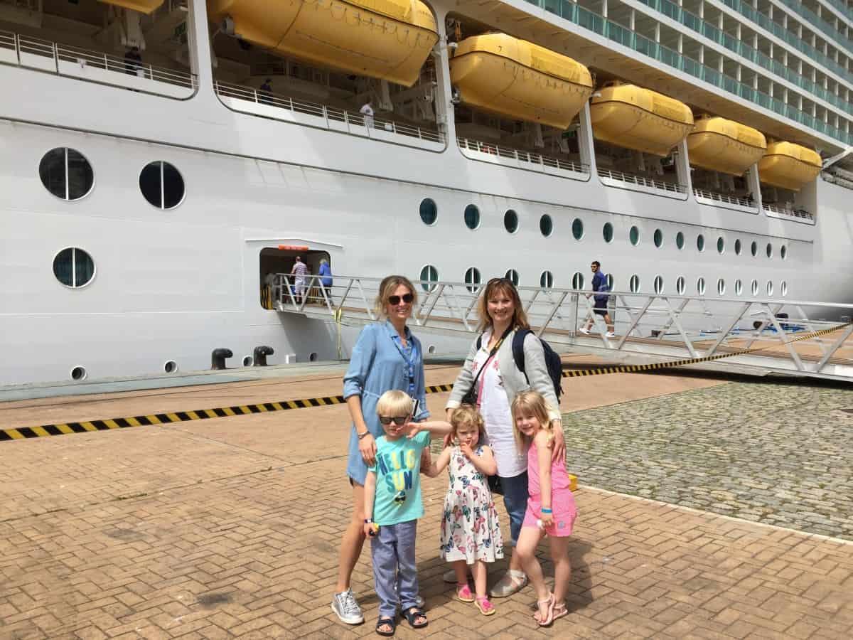 Ship berthed in Vigo