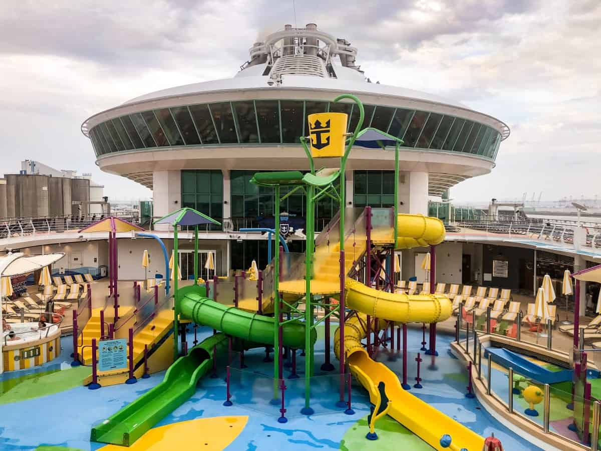 Kids Splashaway Bay on Independence of the Seas.