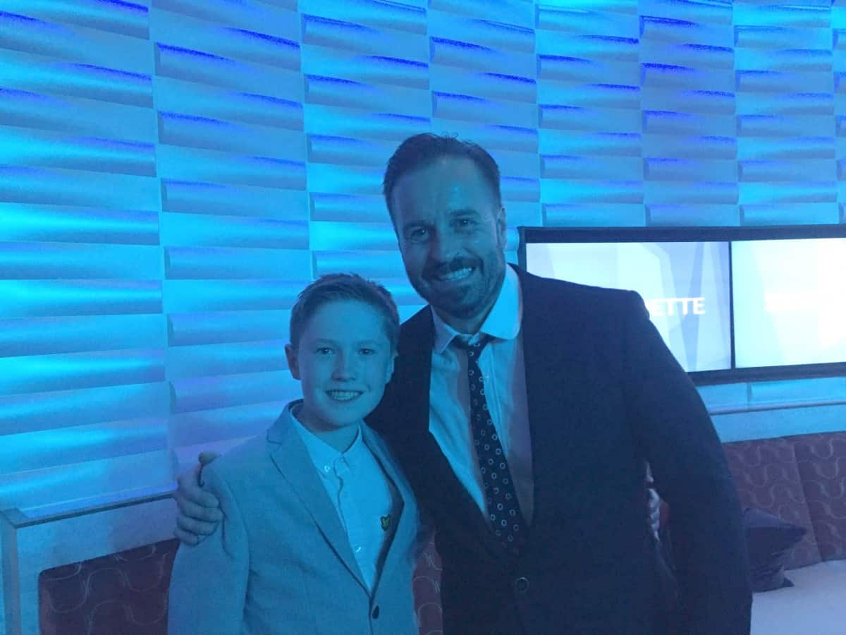 Meeting Alfie Boe on the Bravo Cruise