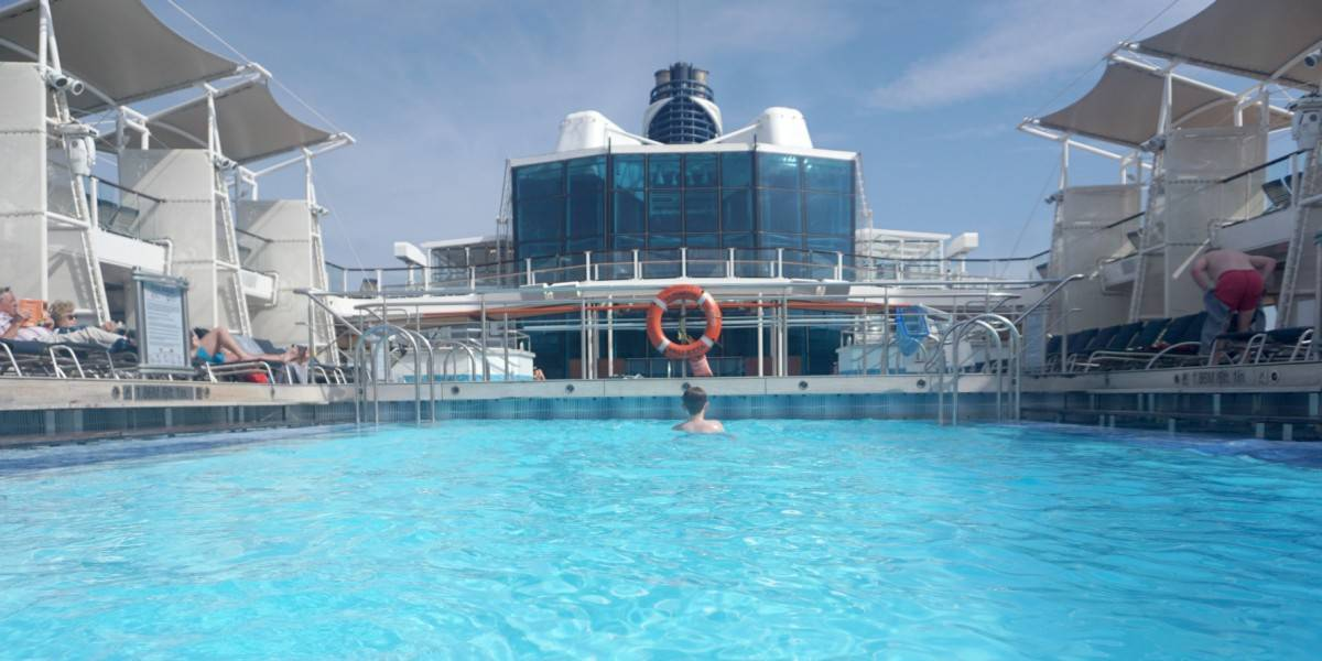 The Pool on Celebrity Silhouette