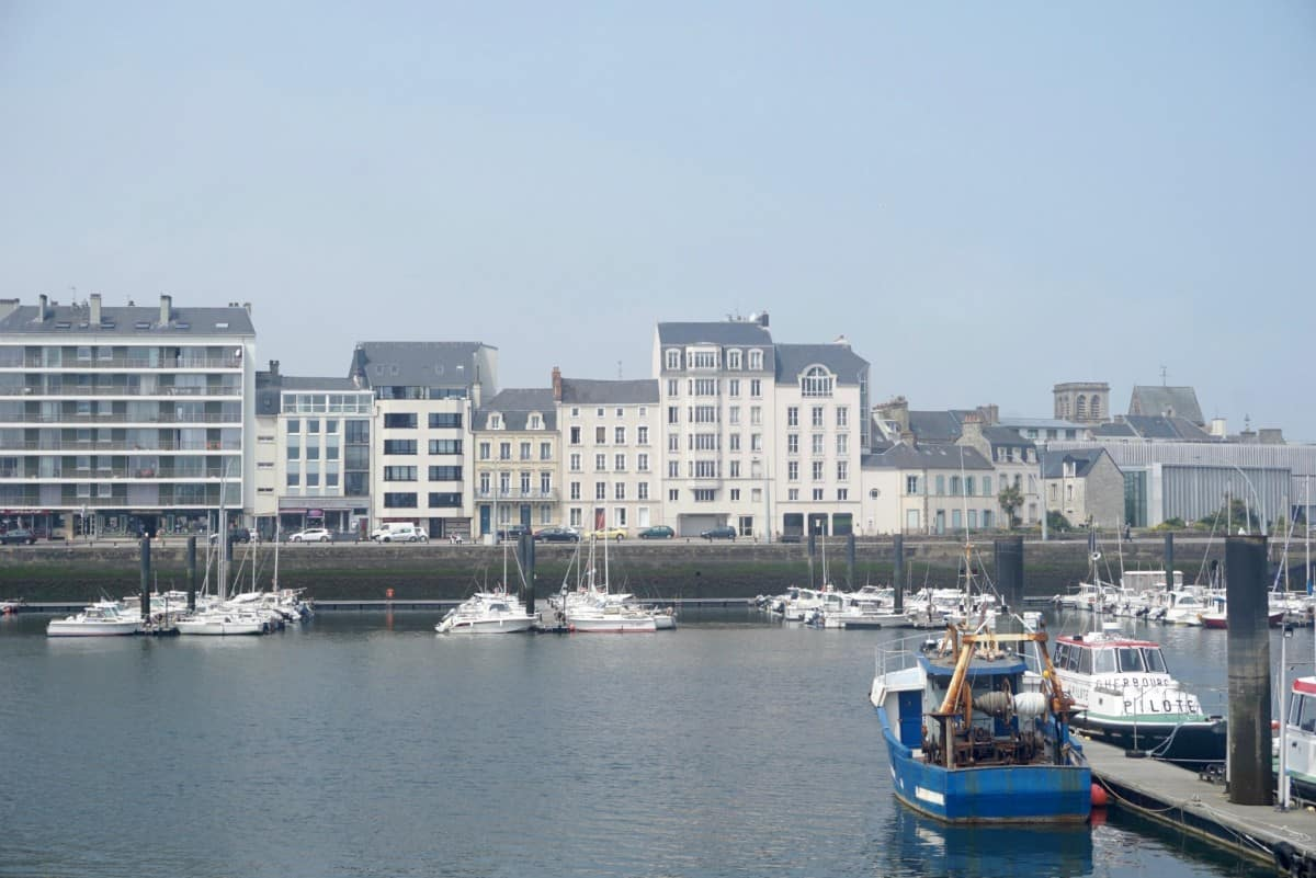 The port of Cherbourg