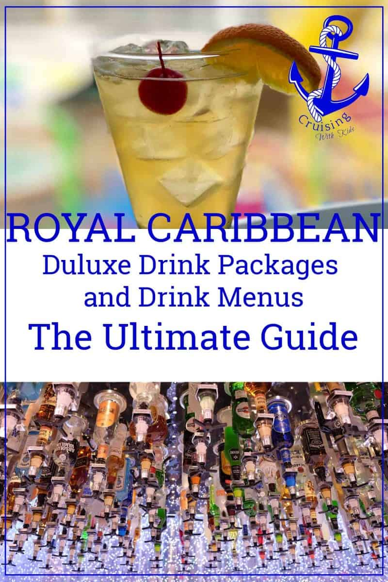 Royal Caribbean's Latest Drinks Package Guide and Drink Menus