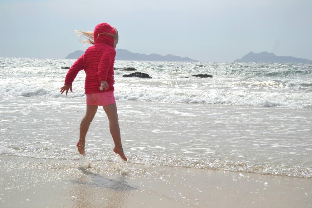 Tot on Simel Beach Vigo - Vigo Port Guide