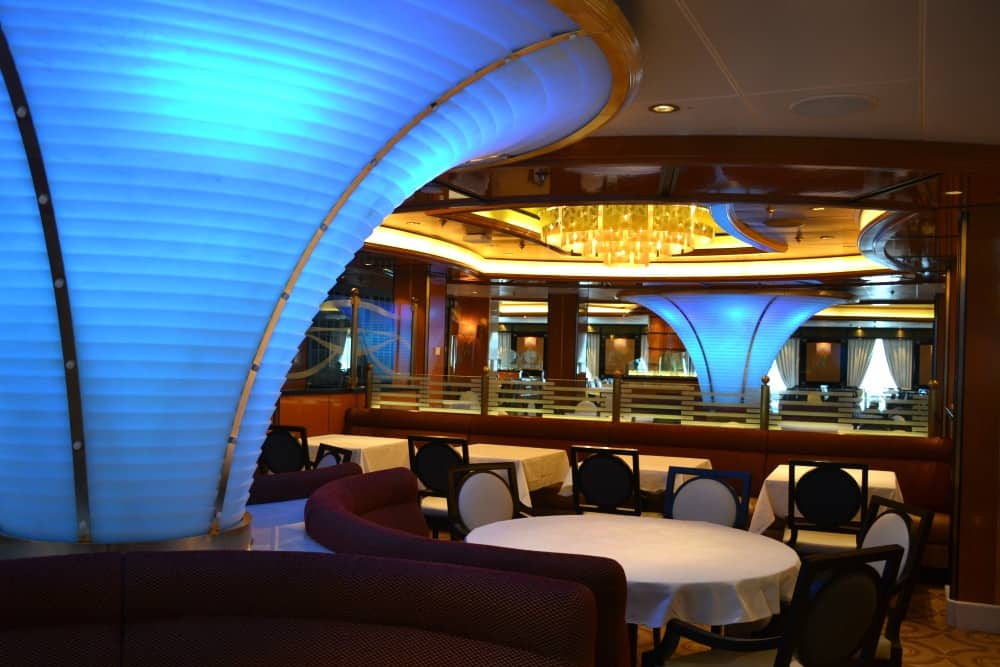 Concerto Dining Room Royal Princess - cruise ship for families