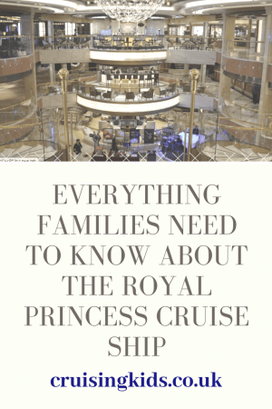 Everything Families Need to Know about the Royal Princess Cruise Ship. This stunning cruise ship is perfect for a luxury family holiday.