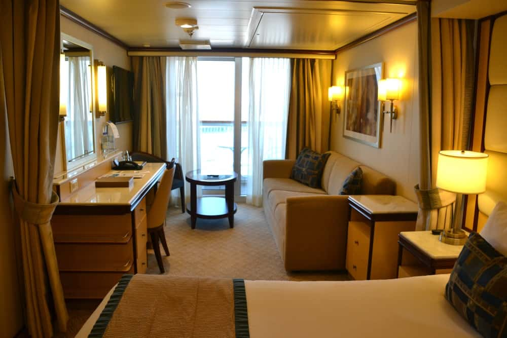 Mini Suite Royal Princess - cruise ship for families