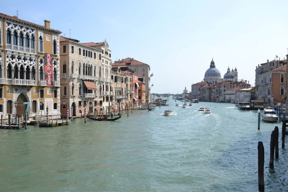 Grand Canal - Port Guide: Venice with kids