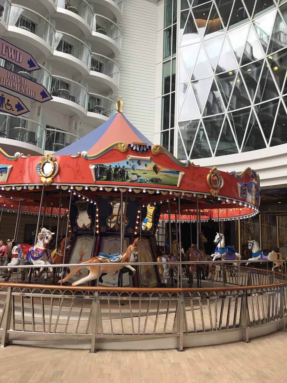 Carousel on Symphony Of The Seas