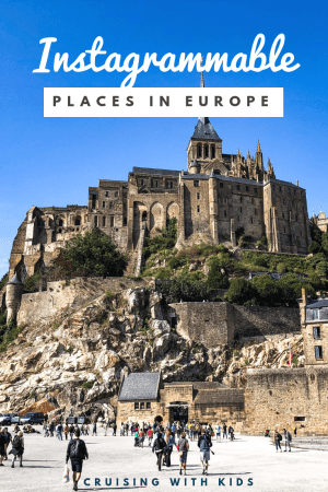The most Instagrammable places in Europe