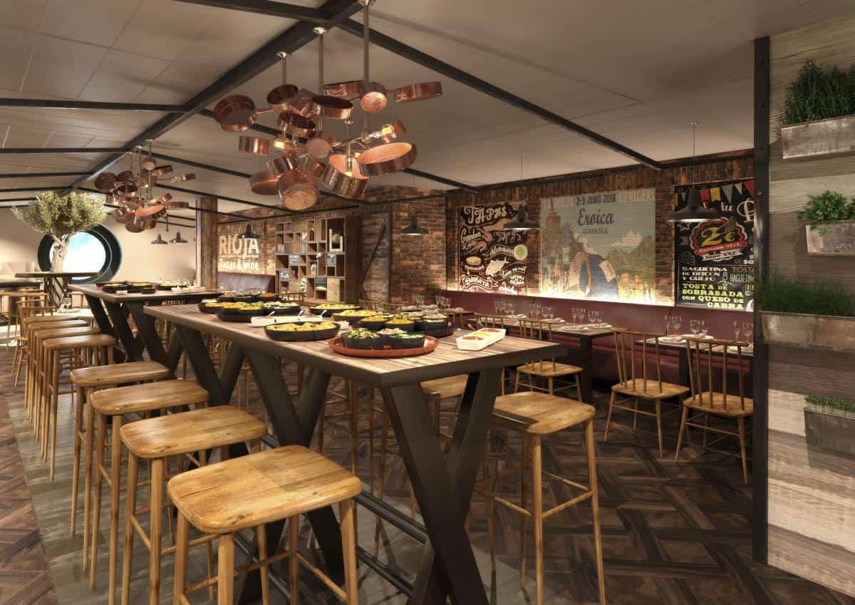 New tapas restaurantconcept fromMichelin starred chef Ramon Freixa