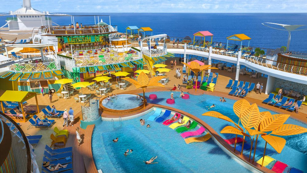 Pool - Navigator of the Seas for families after 2019 refit