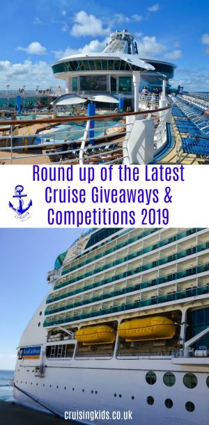 Round up of the Latest Cruise Giveaways and Competitions 2019 #winacruise #cruisegiveaways #cruisecompetition