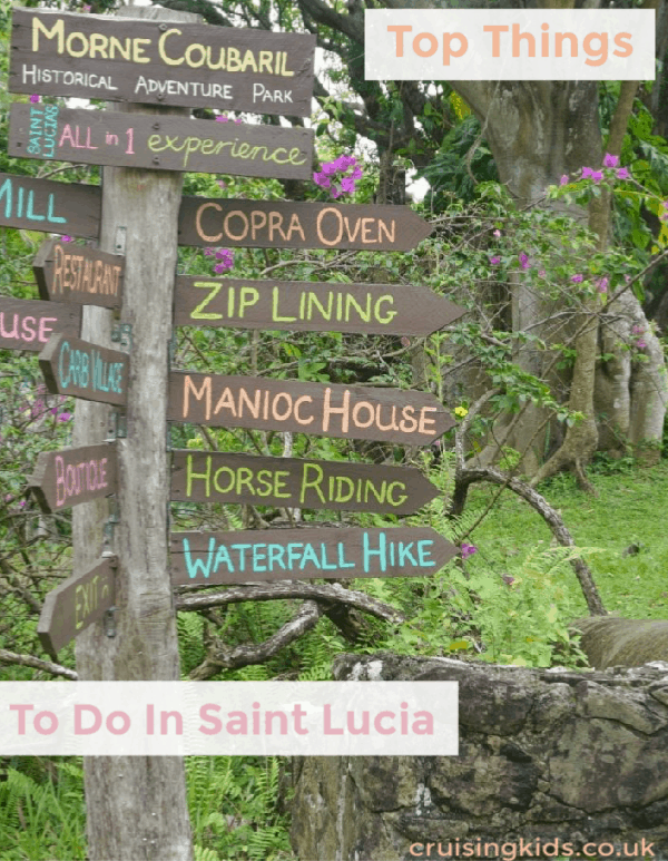 The Top things To See On A Tour Of Saint Lucia