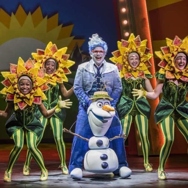 Frozen the Musical onboard Disney Cruise lines.