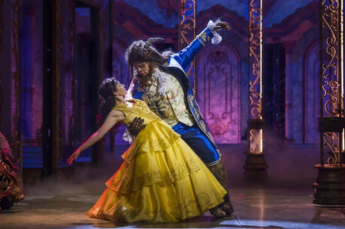 Disney Cruise Lines Amazing Beauty and the Beast live theatre show